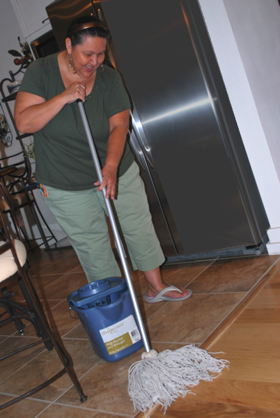 RW Cleaning LLC  mops floors